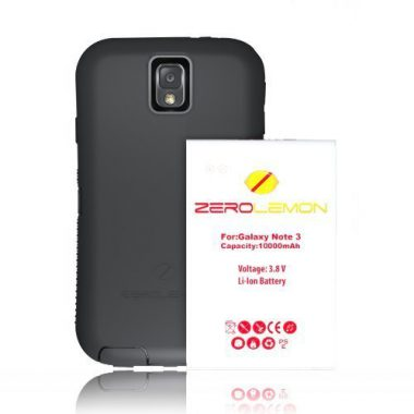 upvoted.top:[180 Days Warranty] Zerolemon Samsung Galaxy Note 3 10000mah Extended Battery with NFC + Zeroshoc...