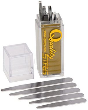upvoted.top:40 Metal Collar Stays in a Clear Plastic Box - 5 Sizes