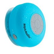 upvoted.top:AquaAudio Mini Ultra Portable Waterproof Bluetooth Wireless Stereo Speakers with Suction Cup for ...