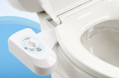 upvoted.top:Astor Bidet Fresh Water Spray Non-Electric Mechanical Bidet Toilet Seat Attachment CB-1000