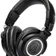 upvoted.top:Audio-Technica ATH-M50x Professional Studio Monitor Headphones