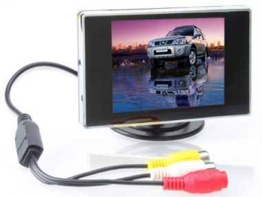 upvoted.top:BW 3.5 Inch TFT LCD Monitor for Car / Automobile