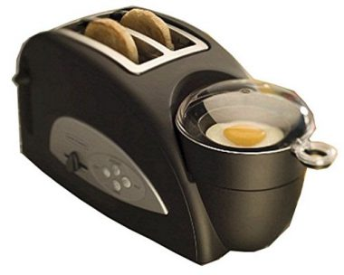 upvoted.top:Back to Basics TEM500 Egg-and-Muffin 2-Slice Toaster and Egg Poacher
