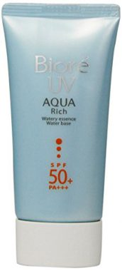 upvoted.top:Biore Sarasara Uv Aqua Rich Waterly Essence Sunscreen 50g Spf50+ Pa+++ for Face and Body