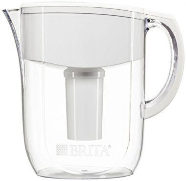 upvoted.top:Brita 10 Cup Everyday BPA Free Water Pitcher with 1 Filter