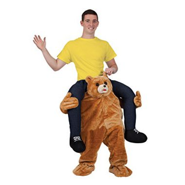 """upvoted.top:""""Carry Me"""" Mascot - TEDDY Costume Animal Funny Fancy Dress"""