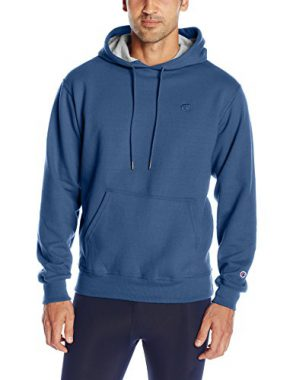 upvoted.top:Champion Men's Powerblend Fleece Pullover Hoodie