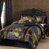 upvoted.top:Chezmoi Collection 7-Piece Palace Dragon Jacquard Comforter Set