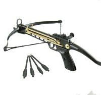 upvoted.top:Cobra Self Cocking Tactical Crossbow Pistol 80-lb.