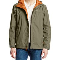 upvoted.top:Columbia Men's Watertight II Front-Zip Hooded Rain Jacket