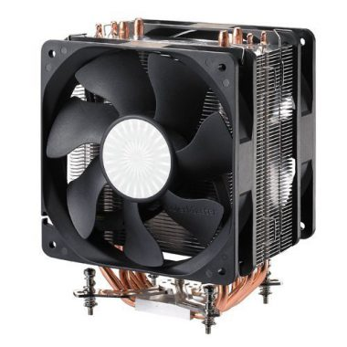 upvoted.top:Cooler Master Hyper 212 Plus - CPU Cooler with 4 Direct Contact Heat Pipes (RR-B10-212P-G1)