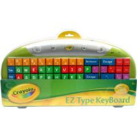 upvoted.top:Crayola USB EZ Type Keyboard - 11071-A