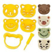 upvoted.top:CuteZCute Animal Friends Food Deco Cutter and Stamp Kit