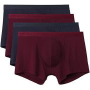 upvoted.top:David Archy Men's 4 Pack Micro Modal Low Rise Trunks (S