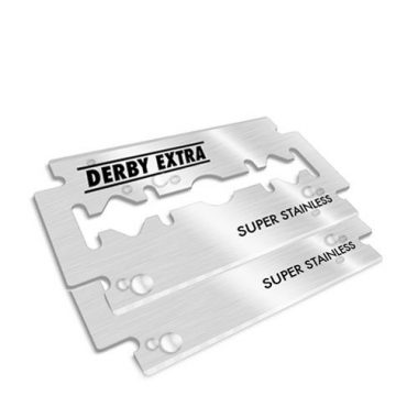 """upvoted.top:""""Derby Extra"""" Stainless Steel Double Edge Razor Blades"""