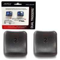 upvoted.top:Dual Triggers for Playstation 3 PS3- Black