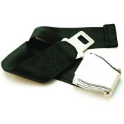 upvoted.top:E4 SAFETY CERTIFIED Airplane Seat Belt Extender - Fits 99.9% - FREE VELOUR POUCH