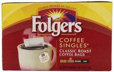 upvoted.top:Folgers Coffee Singles Classic Roast Coffee Bags