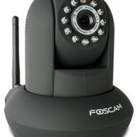 upvoted.top:Foscam FI8910W Pan & Tilt IP/Network Camera with Two-Way Audio and Night Vision (Black)