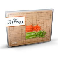 upvoted.top:Fred & Friends THE OBSESSIVE CHEF Bamboo Cutting Board