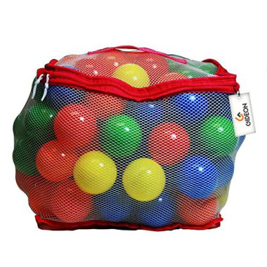 upvoted.top:Gideon8482; 100 Heavy Duty Colorful Plastic Soft Air-Filled Pit Balls for Ball Pits