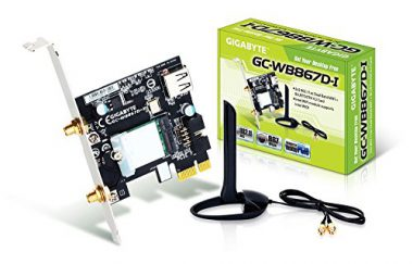 upvoted.top:Gigabyte GC-WB867D-I REV 4.2 Bluetooth 4.2/Wireless AC/B/G/N Band Dual Frequency 2.4Ghz/5.8Ghz Ex...