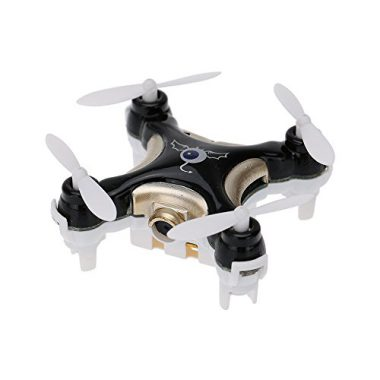 upvoted.top:GoolRC CX-10C Mini 2.4G 4CH 6 Axis Nano RC Quadcopter with Camera RTF Mode 2 (Black)