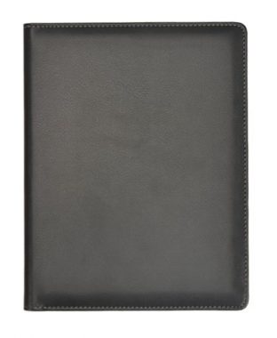 upvoted.top:Grandluxe Black A5 PU Leather Note Pad Folder (600082)