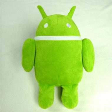 upvoted.top:Green Android Droid Plush Doll Toy Andrew Bell