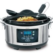 upvoted.top:Hamilton Beach Set 'n Forget Programmable Slow Cooker With Temperature Probe