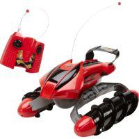 upvoted.top:Hot Wheels R/C Terrain Twister Vehicle (Red) with Battery Pack System