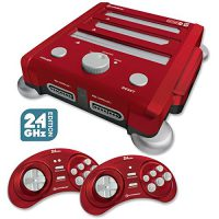upvoted.top:Hyperkin Retron 3 Video Game System for NES/SNES/GENESIS - Red