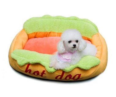 "upvoted.top:KOJIMA New Super Cute Color Cozy Hot-dog Pet Bed Mat for Small Dog Puppy Kitten 24"" x 16"" x 8"""