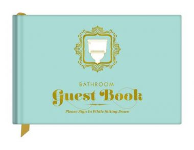 upvoted.top:Knock Knock Bathroom Guest Book (50012)