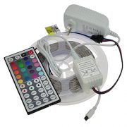 upvoted.top:LEDwholesalers 12-Volt 16.4-ft RGB Color-Changing Kit with Controller and IR Remote