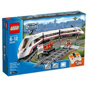 upvoted.top:LEGO City Trains High-speed Passenger Train 60051 Building Toy