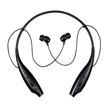 upvoted.top:LG Tone Wireless Bluetooth Stereo Headset - Retail Packaging - Black/Orange