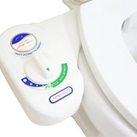 upvoted.top:LUXE Bidet Vi-110 Fresh Water Spray Non-Electric Mechanical Bidet Toilet Seat Attachment