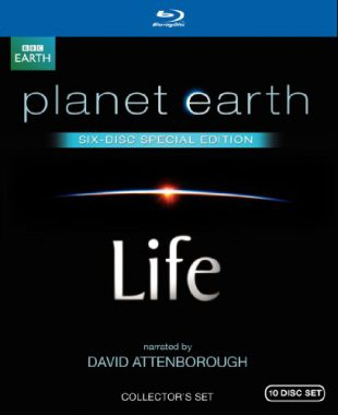 upvoted.top:Life / Planet Earth: Special Edition (Both Narrated by David Attenborough) [Blu-ray]