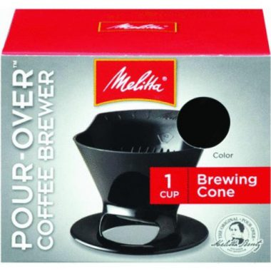 upvoted.top:Melitta Ready Set Joe Single Cup Coffee Brewer black