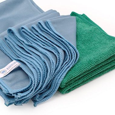 upvoted.top:Microfiber Glass Cleaning Cloths - 8 Pack | Lint Free - Streak Free | Quickly and Easily Clean Wi...