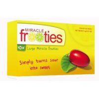 upvoted.top:Miracle Berry Fruit Tablets:TEN tablets Yellow Box Miracle Fruit Frooties Miraculin Tablets Large...