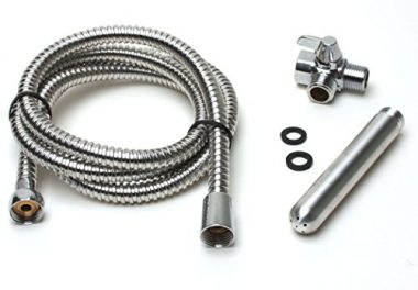 """upvoted.top:Mr-S-Leather Complete Anal Douche """"Shower Shot"""" Kit with Deluxe Aluminum Nozzle"""