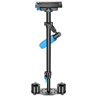 """upvoted.top:Neewer Carbon Fiber 24""""/60cm Handheld Stabilizer with Quick Release Plate 1/4"""" and 3/8"""" Screw for..."""