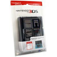 upvoted.top:Nintendo 3DS Game Card Case 24 - Black