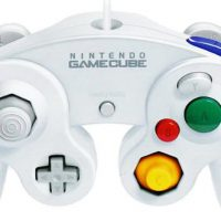 upvoted.top:Official Nintendo White Classic Gamecube Controller