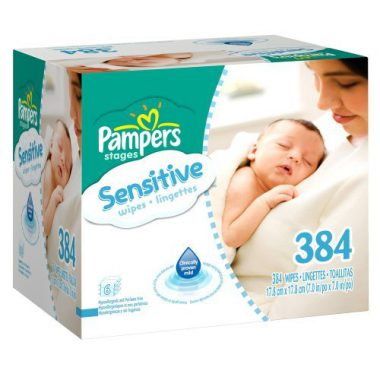 upvoted.top:Pampers Sensitive Baby Wipes - 384 Ct