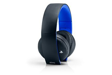 upvoted.top:PlayStation Gold Wireless Stereo Headset - Jet Black