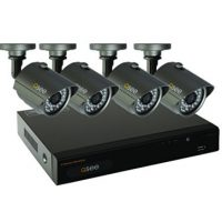 upvoted.top:Q-See QT534-4E4-5 4 Channel Full D1 Surveillance System with 4-960H/700TVL Cameras and Pre-Instal...