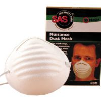 upvoted.top:SAS Safety 2985 Non-Toxic Dust Mask Box of 50